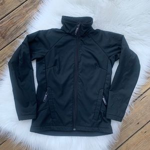 Columbia Black Soft Lined Fitted Jacket S